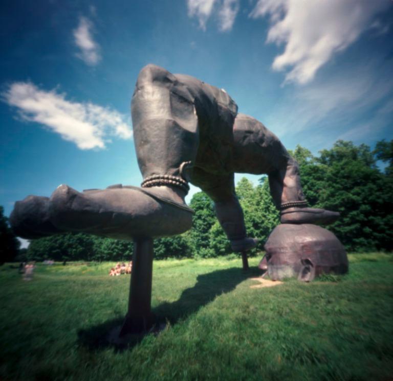 Zhang Huan, Three Legged Buddha, 2007