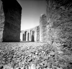 Zero 2000 + Acros 100. Fake Stonehenge in Washington State.