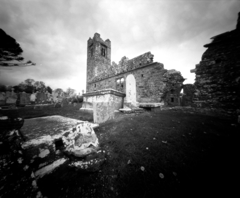 Camera: Pinhole 4x5 (Horseman 120 roll back fitted) Film: Foma 100 Dev: Rodinal 1+ 50 9mins